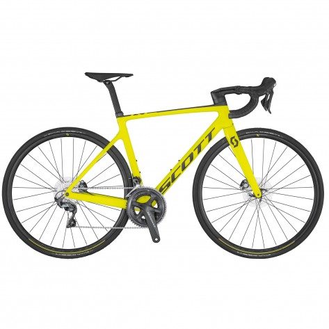 BICI SCOTT ADDICT RC 30 - YELLOW