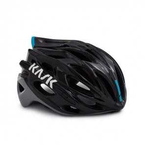 CASCO KASK MOJITO X - NERO LIGHT BLUE